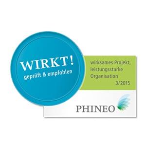 Phineo Wirkt! Siegel