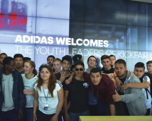 KICKFAIR Youth Leader Camp 2015 mit adidas
